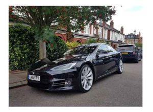 Sarah's Tesla